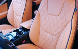 Ford Mondeo First Edition Lederen Interieur