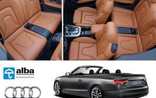 Audi A5 Cabrio Alba Buffalino Leder
