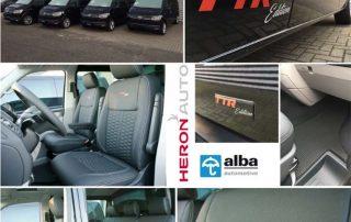 Alba Nieuws VW Transporter TTR Lederen Interieur