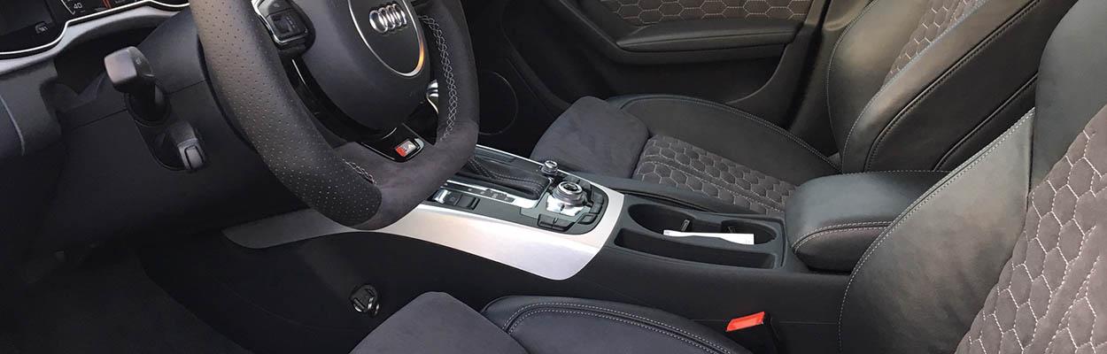 Alba Lederen Auto Interieur Audi A4