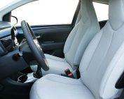 Toyota Aygo Alba eco-leather Titaniumgrijs Voorstoelen