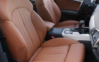 Audi A6, Alba eco-nappa cognac voorstoelen