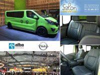 Autosalon Brussel Opel Vivaro Alba Lederen Interieur