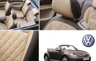 Alba Nieuws VW Beetle Chocoladebruin Lederen Interieur