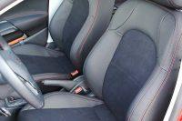 Seat Ibiza FR Alba eco-leather Zwart Alcantara Rood Stiksel Voorstoelen