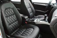 Audi A5 Sportback, Alba eco-nappa zwart diamond voorstoelen