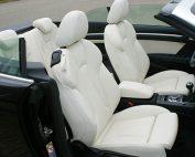 Audi A3 Cabriolet, Alba Buffalino Leder Wit