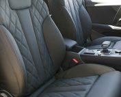 Audi A5 Sportback, Alba Nappa Zwart met Diamond stiksel voorstoelen