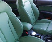 Audi Q3, Speciaal besteld Nappa leder Groen voorstoelen