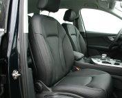 Audi Q7, Alba Buffalino Leder Zwart voorstoelen