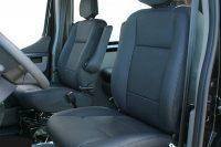 Renault Master, Alba eco-leather Zwart A0500-E voorstoelen
