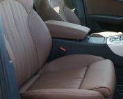 Audi A6, Alba buffalino Leder Nougat Bruin voorstoelen