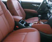 Nissan Qashqai, Alba Buffalino Leder Mustang Bruin voorstoelen