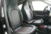 Renault Twingo GT, Alba Buffalino Leder Zwart met Rood stiksel voorstoelen