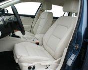 Volkswagen Passat, Alba Buffalino Leder Wit voorstoelen