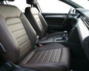 Volkswagen Passat GTE, Alba Nappa Leder Bruin voorstoelen