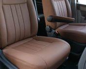 Volkswagen Transporter T6, Alba eco-leather kaneelbruin voorstoelen