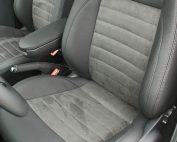 Volkswagen Polo, Alba eco-leather Zwart met Zwart eco-suède voorstoelen