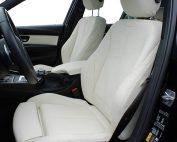 BMW 3-serie F30, Alba Buffalino Leder Wit voorstoelen