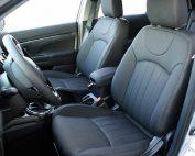 Mitsubishi ASX, Alba eco-leather Zwart voorstoelen