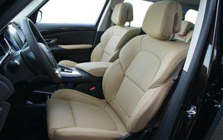 Renault Espace, Alba eco-leather Moonstone voorstoelen