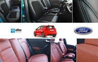 Ford Fiesta 2018 compilatie foto leder Alba
