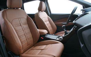 Ford Kuga, Alba Cognac Nappa Leder in Ferrari Design voorstoelen
