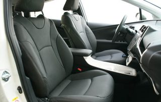Toyota Prius, Alba eco-leather Antraciet met Perforatie Voorstoelen