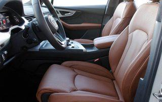 Audi SQ7, Alba Origineel Audi Nappa Leder Valcona Cognac Voorstoelen
