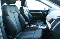 Audi Q5 Alba Zwart Nappa Leder Voorstoelen