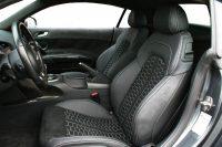 Audi R8 Zwart Nappa Leder met Zwart Alcantara en Honingraat patroon