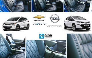 Opel Ampera-E / Chevrolet Bolt EV Compilatiefoto eco-nappa zwart Diamond