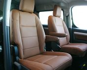 Citroen Jumpy Alba eco-leather kaneelbruin voorstoelen