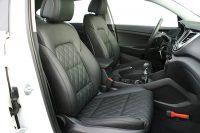 Hyundai Tucson Alba Buffalino Leder Zwart met Diamond Stikselpatroon Voorstoelen