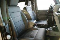 Jeep Wrangler Alba eco-nappa zwart Interieur voorstoelen