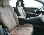 Peugeot 5008 Alba Buffalino Leder Chocoladebruin Diamond Voorstoelen