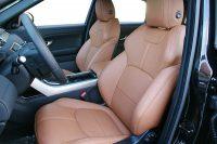 Range Rover Evoque, Alba Buffalino Leder Truffel Bruin Voorstoelen