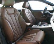 Audi A5 Sportback Alba Buffalino Leder Nougat Bruin Diamond Voorstoelen