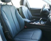 BMW 320i F30 Alba eco-leather Zwart Interieur Voorstoelen