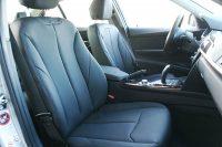 BMW 320i F30 Alba eco-leather Zwart Interieur Voorstoelen