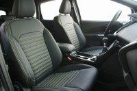 Ford Kuga Alba eco-leather Zwart Geel stiksel voorstoelen