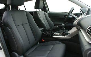 Mitsubishi Eclipse Cross Alba eco-leather zwart voorstoelen
