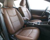 Nissan Leaf Alba buffalino leder Nougat Bruin Voorstoelen