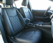 Nissan Leaf Alba eco-nappa Zwart Interieur Diamond Voorstoelen