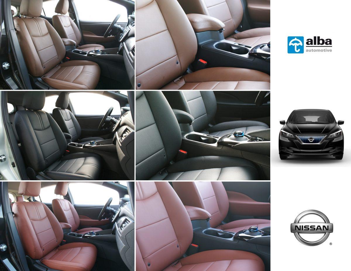Nissan Leaf 2018 Compilatiefoto Alba Interieurs