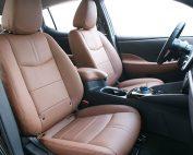 Nissan Leaf Alba Buffalino Leder Kaneel Bruin Interieur Voorstoelen