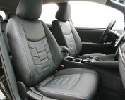 Nissan Leaf Alba eco-leather Zwart Interieur Special Design Voorstoelen