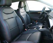 Seat Ibiza Alba eco-nappa zwart interieur voorstoelen