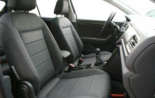 Volkswagen T-Roc Alba Buffalino Leder Inbouw Zwart Voorstoelen