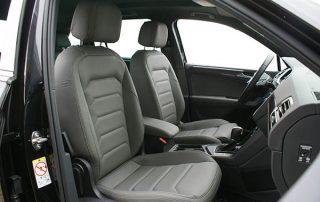 Volkswagen Tiguan Alba Buffalino Leder Grijs Inbouw Voorstoelen